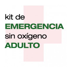 KIT EMERGENCIA SIN OXÍGENO ADULTO