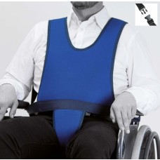 Peto con perineal para silla de ruedas (cierre CLIP)