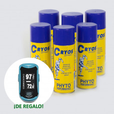 8  SPRAY FRIO - CRYOS PHYTO  400 ML + PULSIOXÍMETRO DE REGALO